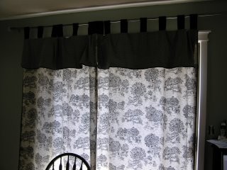 10k Kitchen Remodel Toile Curtains For The Sliding Glass Door