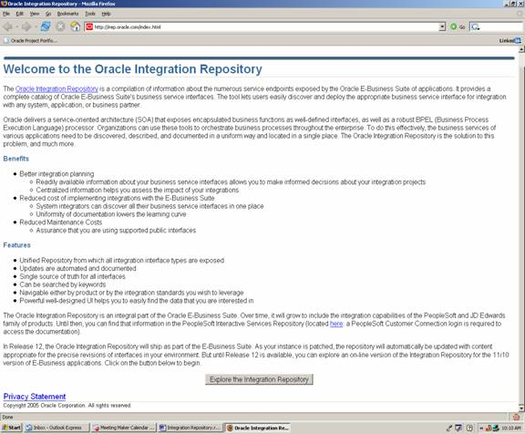 ORCLville: The Oracle Integration Repository - Escape From API Purgatory
