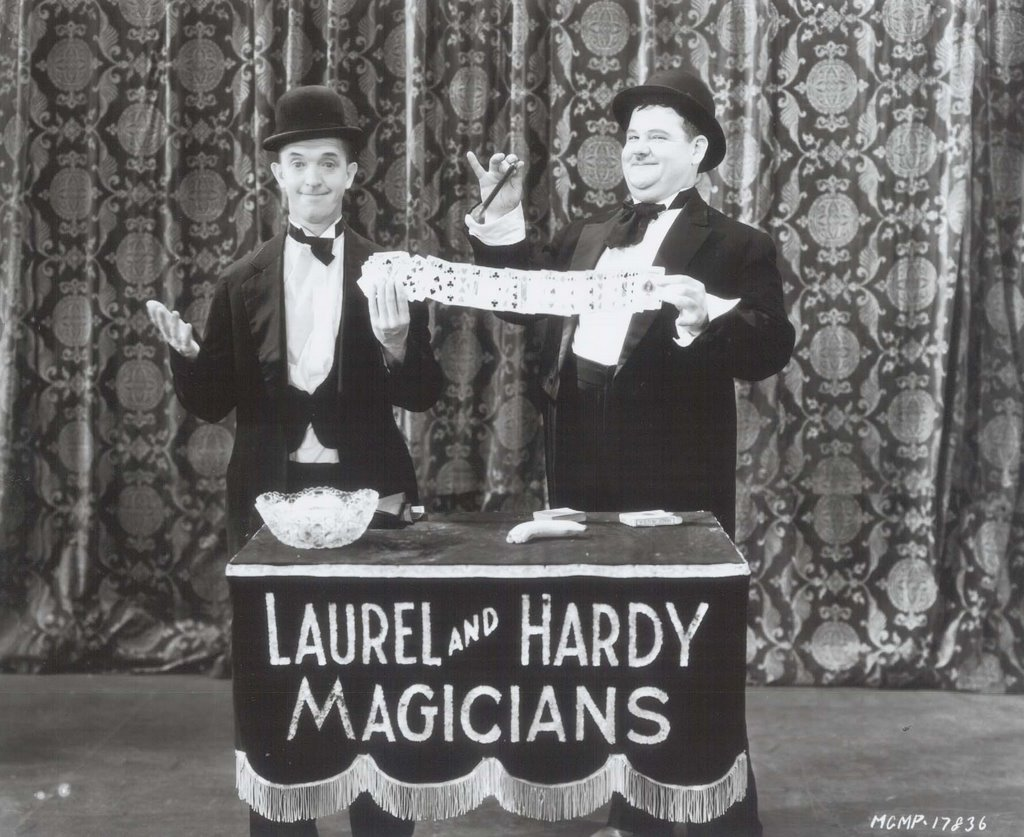 Greenbriar Picture Shows – Laurel and Hardy Birthday Cards
