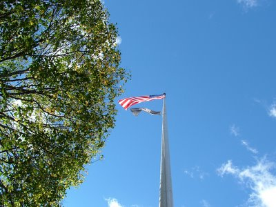 Nutley WWII Memorial, Copyright © 2005 by Anthony Buccino, all rights reserved
