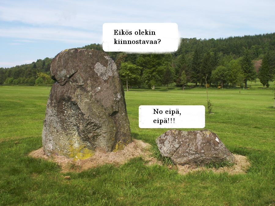 Kiviäkin Kiinnostaa