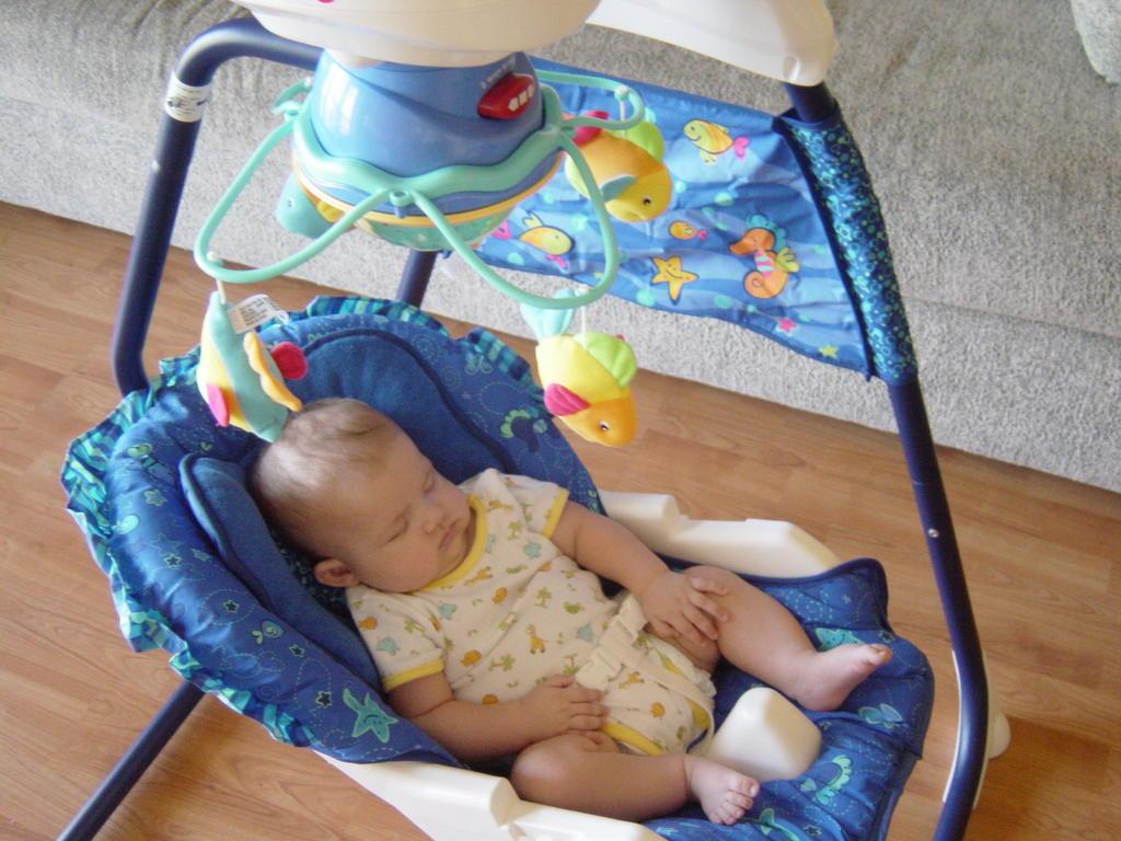 We Love Astrid: Astrid's Aquarium Cradle Swing