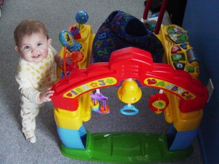 We Love Astrid Intellitainer Infant Activity Center By