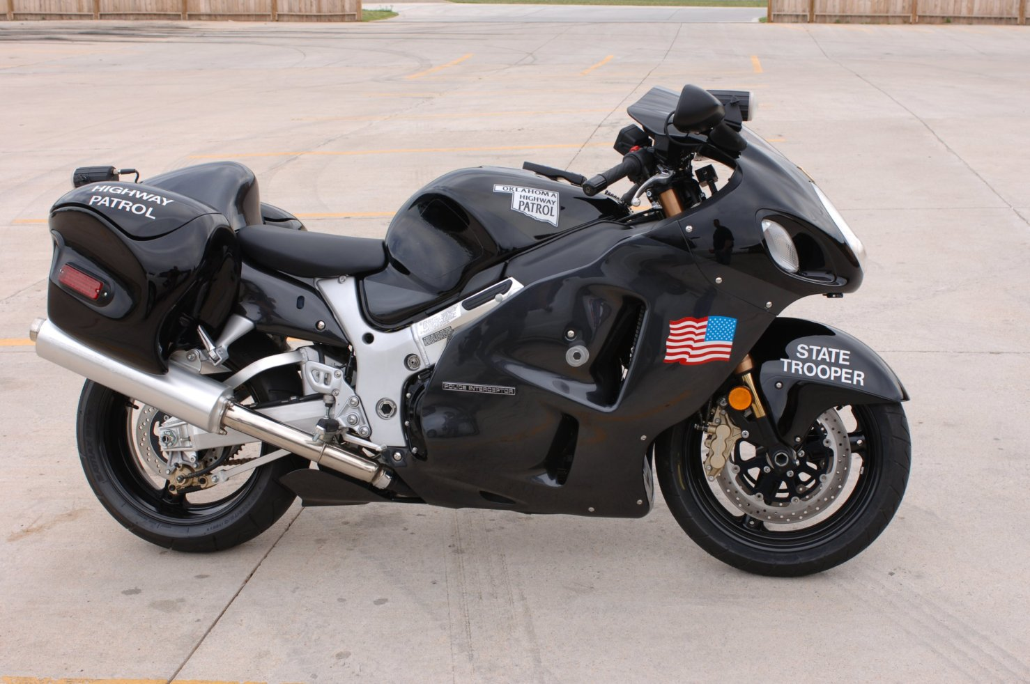 OKLAHOMA HIGHWAY PATROL HAYABUSA 2009 - 2010: June 2006