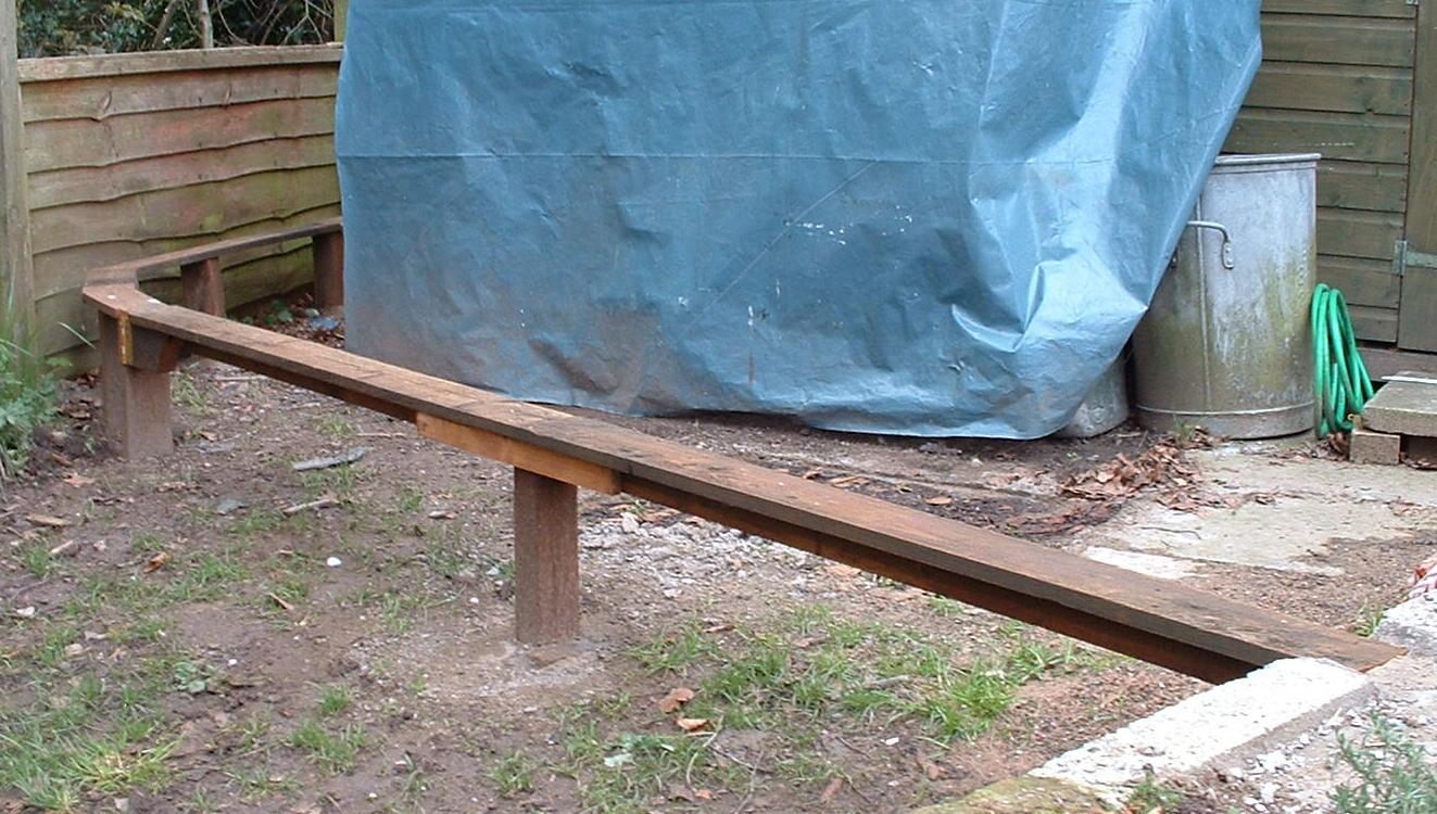 Peckforton Light Railway: How I improved the rail joints on