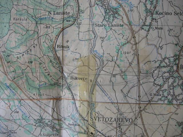 Zikka S Remembrance Mapa Jagodine I Lanista