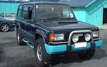 1988 isuzu trooper diesel conversion: july 2005