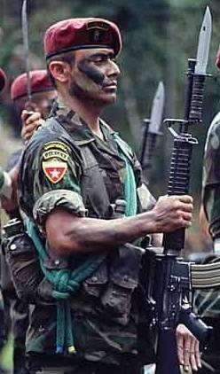 Pero los kaibiles no solo están para su lucha contrainsurgente que les dio  origen ed488f3a957
