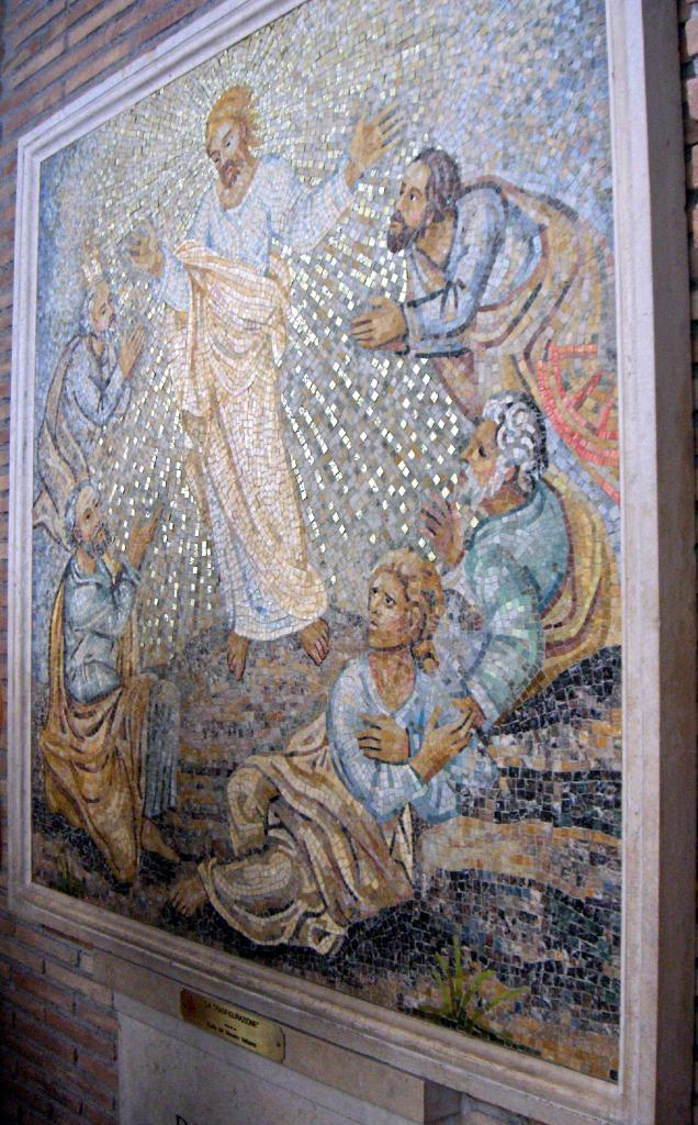Mosaics Of St Peters Basilica In The Vatican City