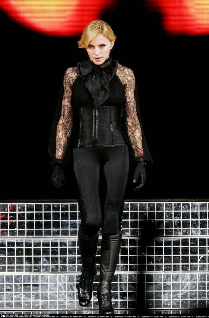 Madison Square Garden: Celebrity Moms: Madonna In Concert At Madison Square Garden