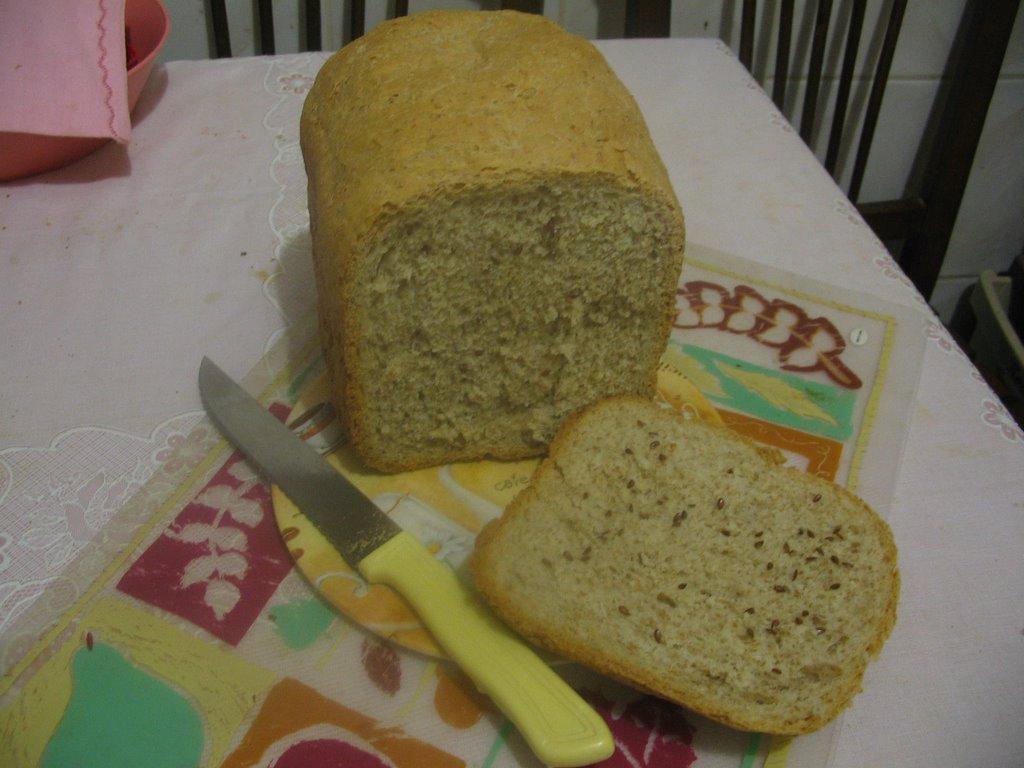 Ekmek Makinasında Mısır Ekmeği