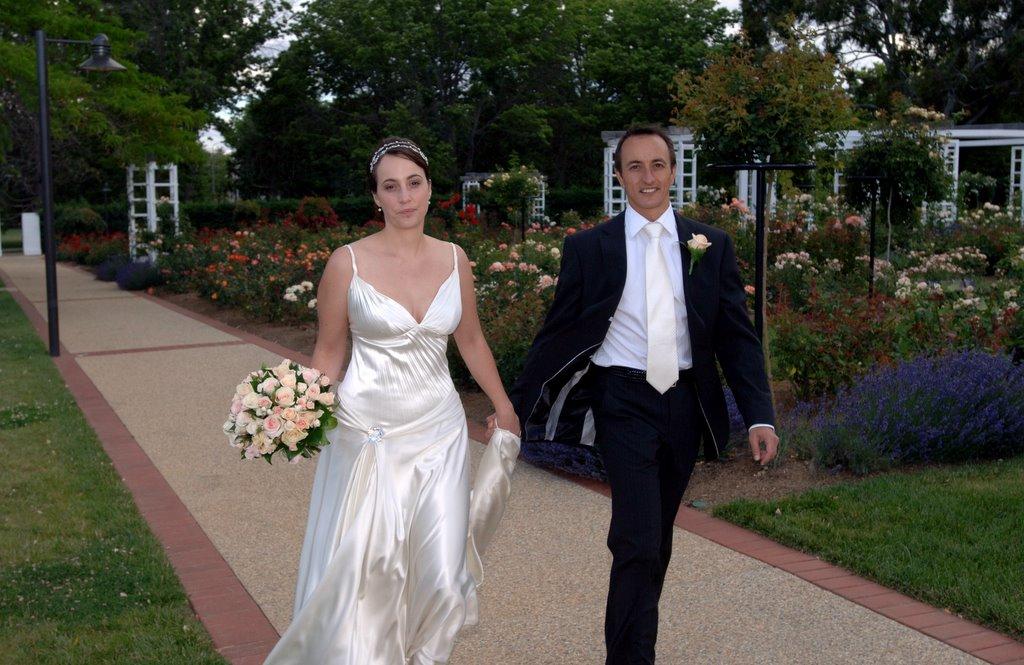 Rachel Lord and Dave Sharma