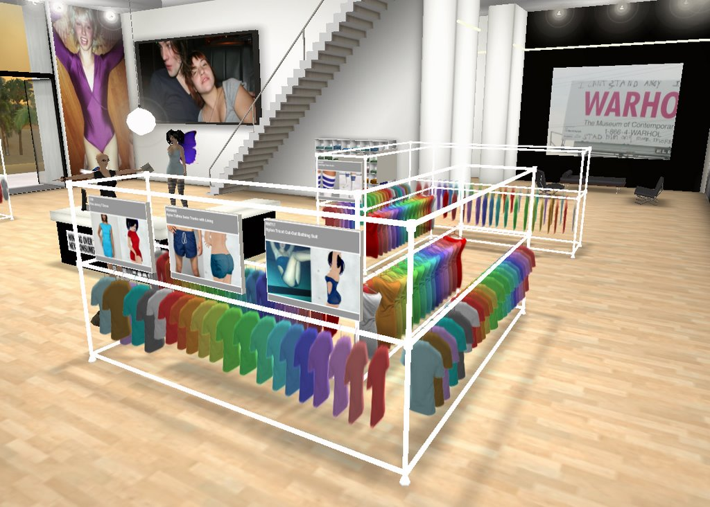 Second Life Changing Rooms