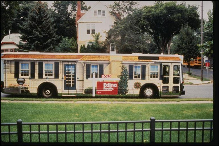 Edina Realty Bus Awesome Billboards And Outdoor Advertising