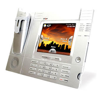 Advertising Lab Verizon One Landline Phone Displays Content Maybe Ads