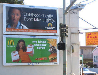 mcdonalds obesity billboard