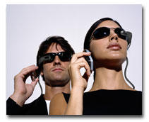 cell phones, head mounted displays, kopin, orange, microoptical