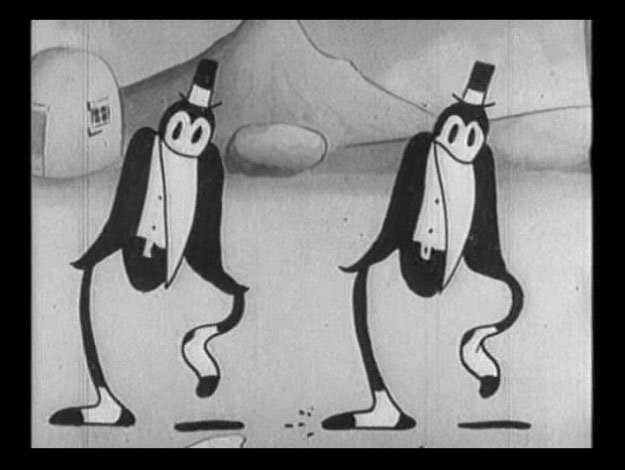 Duck Walk Inspiration Rubbery Cartoon Dancing