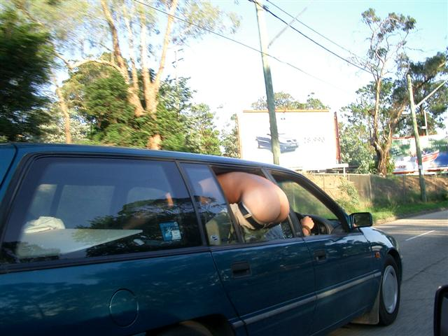 InSight, In Mind: Mooning whilst driving...so Australian...