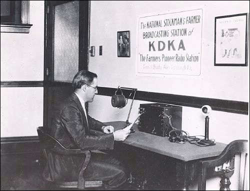 Old Time Radio: 8XK/KDKA
