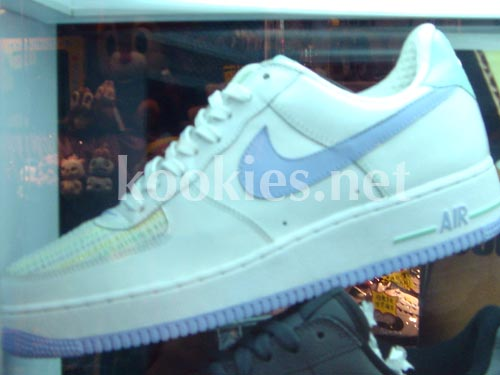 sports shoes 29aa5 3ebe1 New Nike White Pastel Air Force 1 Sample