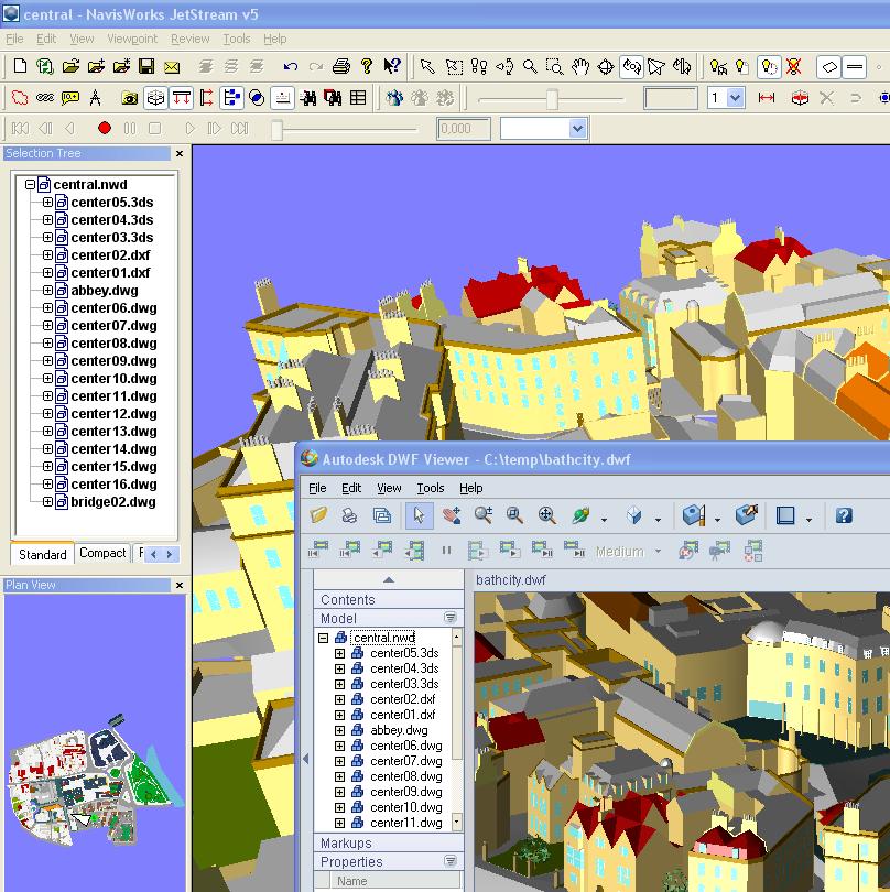 JTB World Blog: NavisWorks support for AutoCAD 2007