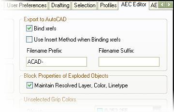 JTB World Blog: Change the way Export to AutoCAD works in ADT