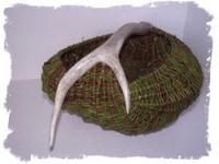 Antler/Diamond Willow Basket