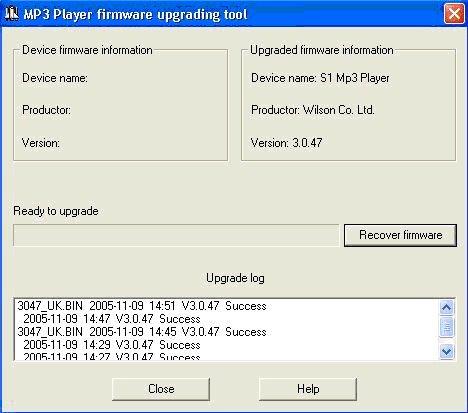InFoRmAtIcA FaCiL: Actualiza el firmware de tu mp3