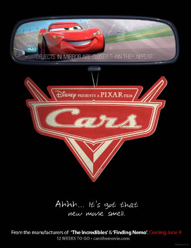 Disney Pixar Cars Movie Poster Gallery Cars Countdown Poster New