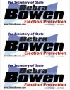 PDF of Debra Bowen bumper stickers