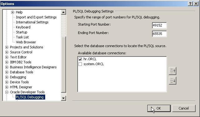 Christian Shay - Oracle and  NET: PL/SQL Debugger in Visual Studio