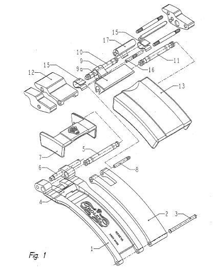Glide Lock Diagram