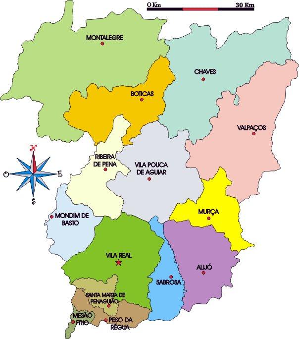 ribeira de pena mapa Travassos: freguesia do salvador do bilhó ribeira de pena mapa