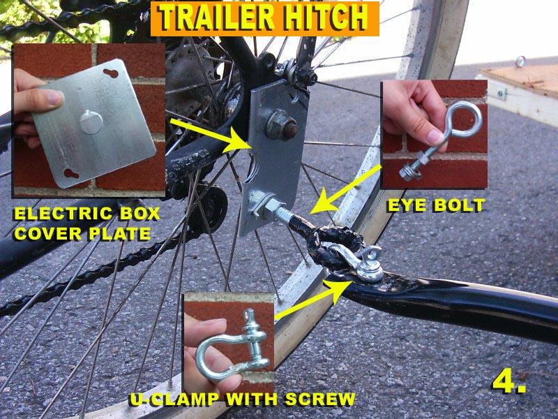 1 vs  2 wheel trailer - Bike Forums