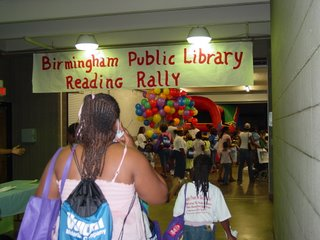 Reading Rally Banner