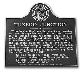 Tuxedo Junction historical marker