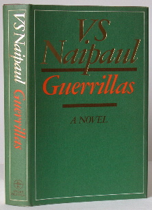 Guerrillas book V.S.Naipaul