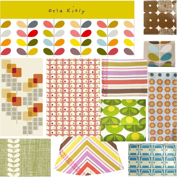 print pattern orla kiely fabrics. Black Bedroom Furniture Sets. Home Design Ideas