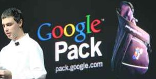 Larry announces Google Pack Software Bundle