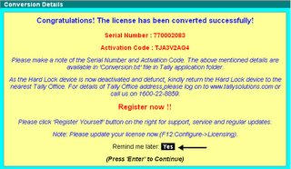 tally 7.2 serial number and activation key