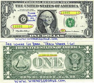united states currency tracking project