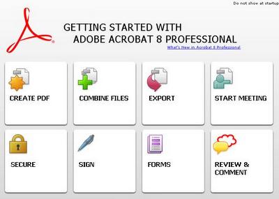 Acrobat 8 Leaves Adobe Building: What'