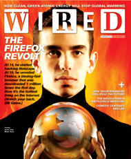 Blake Ross on the Wired Magazine Cover page