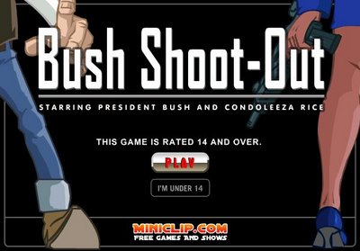 Bush Shoot-out: The Opening Screen