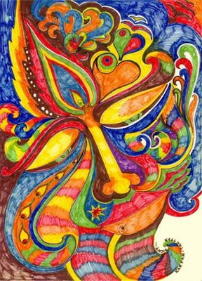 Thanks to Hans Taeger. Check out more psychedlic art and sketches at http://www.iol.ie/~taeger/psydicky/psydicky.html