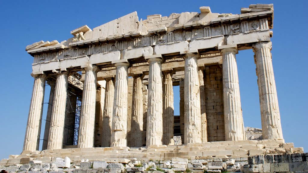 Art and Archaeology: The Parthenon. Athens, Greece. Marble ...