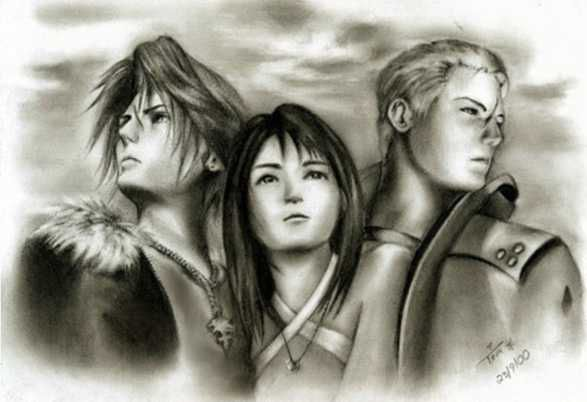 relationship between seifer and rinoa squall