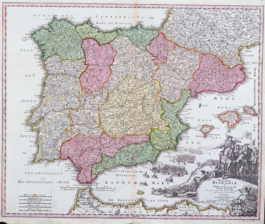Mapa De España Antiguo.Mapas Antiguos De Espana Xxi Corazon De Leon