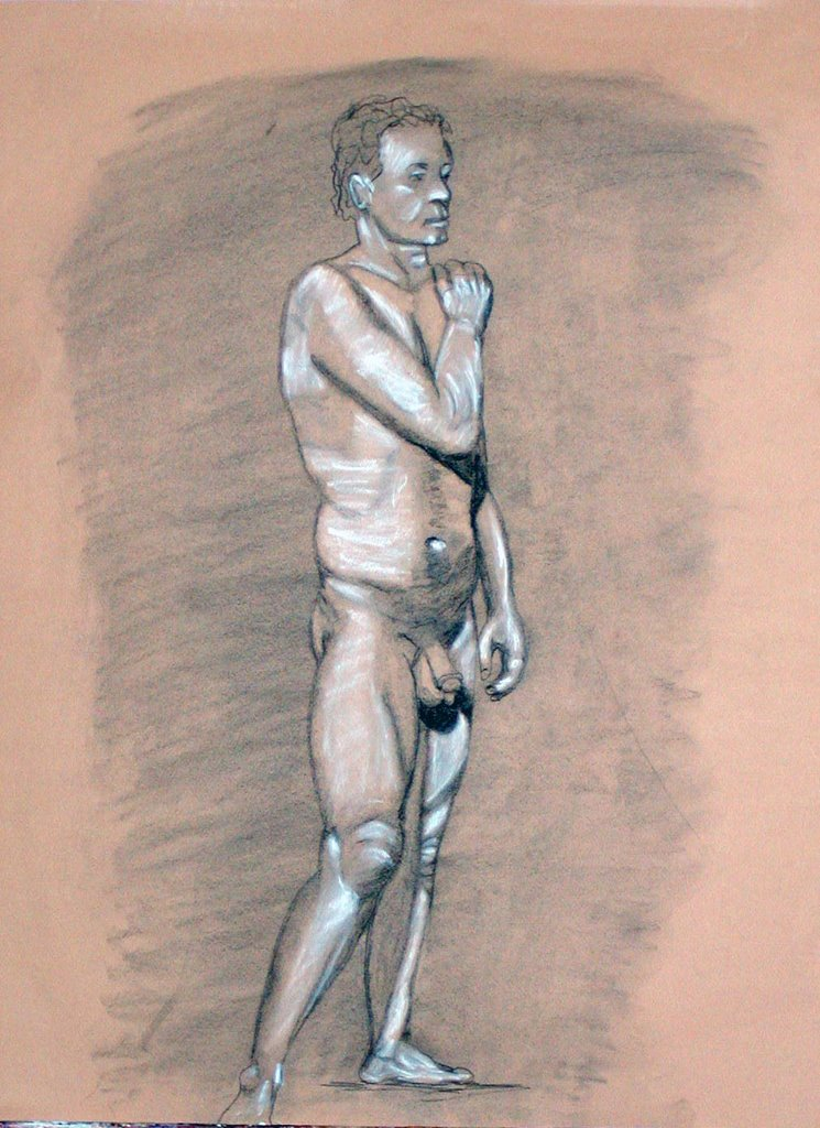 Nude drawing of my wife